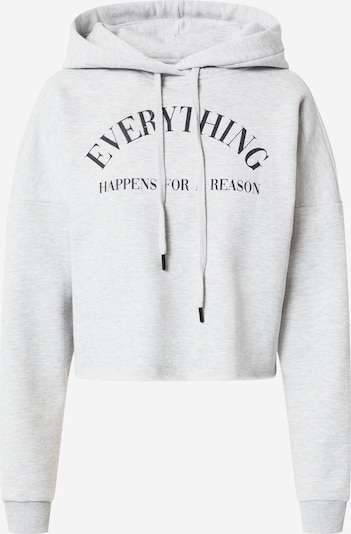 ABOUT YOU Limited Sweatshirt 'Luisa' by Luisa in graumeliert, Produktansicht