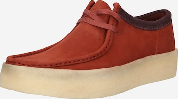 sarkans Clarks Originals Sporta apavi ar šņorēm 'Wallabee'