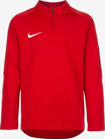 NIKE Sportsweatshirt 'Academy 18' in rot / weiß, Produktansicht
