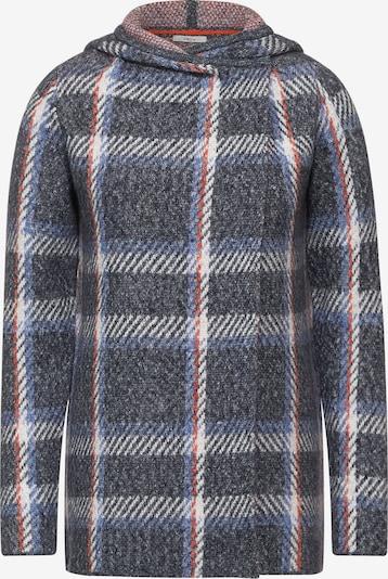 CECIL Cardigan in blau / anthrazit / rot / weiß, Produktansicht