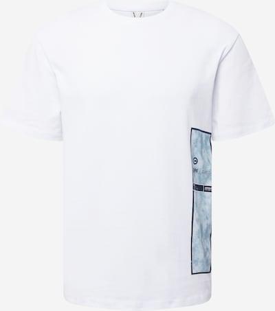 JACK & JONES Majica 'ASPEN' u noćno plava / opal / zlatno žuta / prljavo bijela, Pregled proizvoda