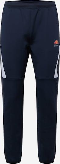 Pantaloni sport ELLESSE pe bleumarin / gri bazalt / alb, Vizualizare produs