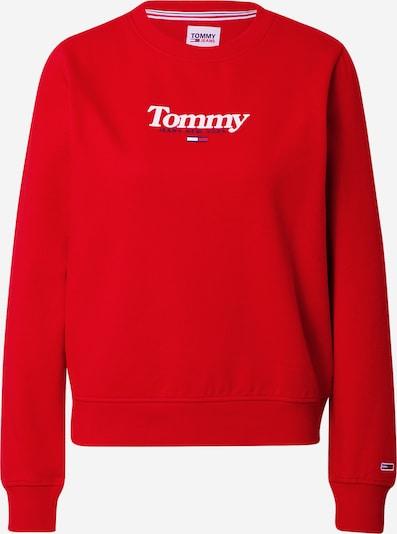 Tommy Jeans Sweatshirt 'Essential' in de kleur Rood, Productweergave