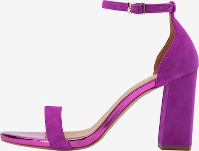 IZIA Sandalen met riem in de kleur Neonlila, Productweergave