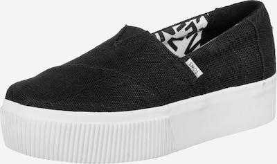 TOMS Sneaker ' Alpargata Boardwalk ' in schwarz, Produktansicht