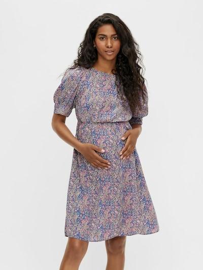 MAMALICIOUS Kleid 'SARAH' in blau / mischfarben, Modelansicht
