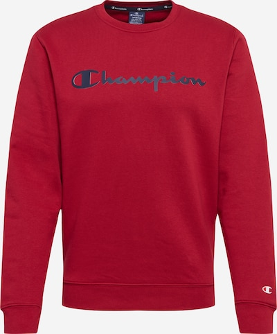 Champion Authentic Athletic Apparel Sweatshirt in rot / schwarz, Produktansicht