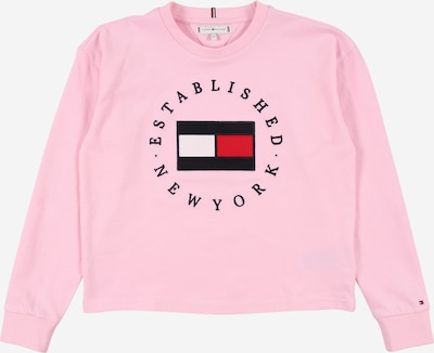 TOMMY HILFIGER Koszulka 'HERITAGE' w kolorze granatowy / jasnoróżowy / czerwony / białym, Podgląd produktu