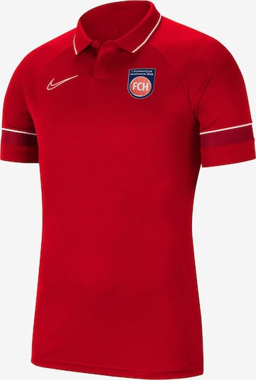 NIKE Poloshirt in blau / rot / weiß, Produktansicht