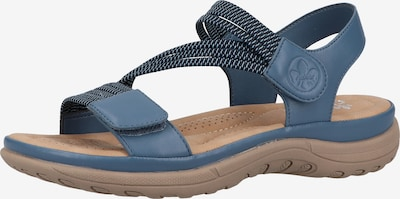 RIEKER Trekking sandal in Smoke blue, Item view