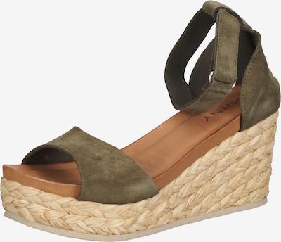 MAHONY Sandale in khaki, Produktansicht