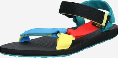 TEVA Sandale za hodanje u plava / pastelno žuta / crvena / crna, Pregled proizvoda