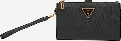 GUESS Portemonnaie 'DOWNTOWN CHIC' in gold / schwarz, Produktansicht