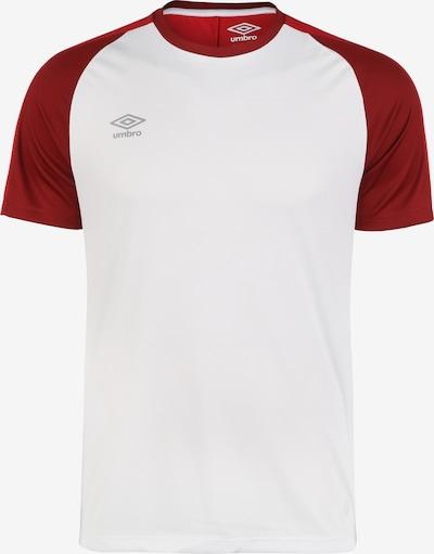 UMBRO Training Jersey Trainingsshirt Herren in rot / weiß, Produktansicht