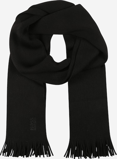 Fular 'Albas' BOSS pe negru, Vizualizare produs