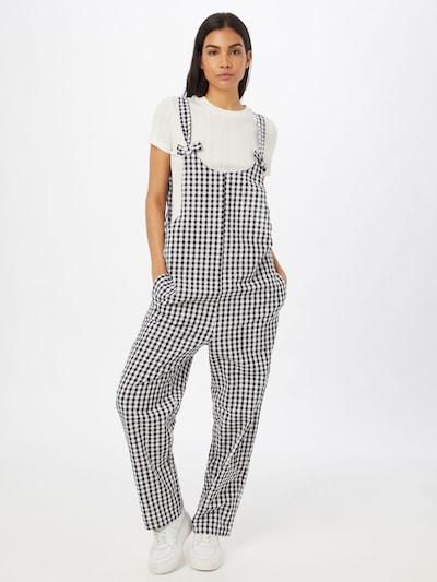 Cotton On Overal - čierna / biela, Model/-ka