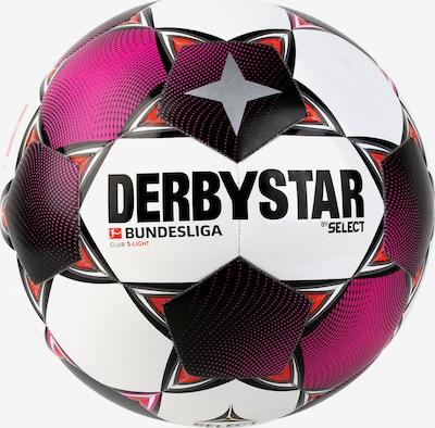 DERBYSTAR Ball in magenta / silber / weiß, Produktansicht