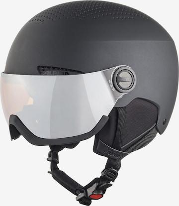 Alpina Helmet 'VISOR' in Black