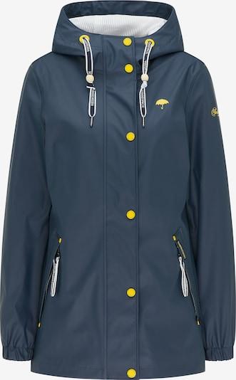 Schmuddelwedda Jacke in marine / gelb, Produktansicht