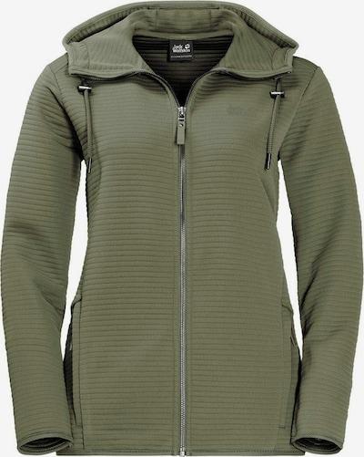 JACK WOLFSKIN Functionele fleece jas in de kleur Kaki, Productweergave