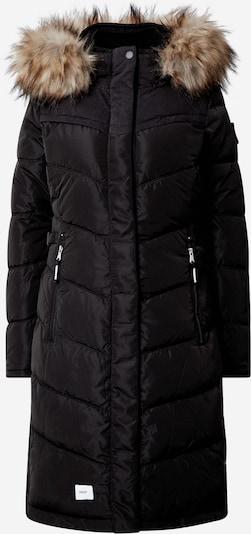 khujo Wintermantel 'LUBECK LONG4' in de kleur Zwart, Productweergave