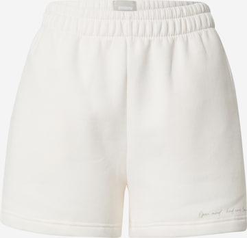 ABOUT YOU x Sofia Tsakiridou Spodnie 'Marlo' w kolorze biały
