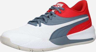PUMA Chaussure de sport 'Triple' en bleu-gris / rouge / blanc, Vue avec produit