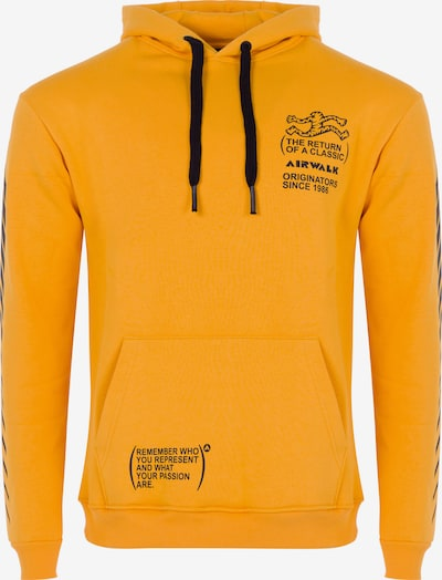 AIRWALK Kapuzenpullover in gelb, Produktansicht