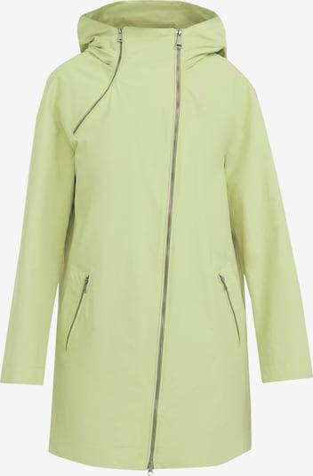 Finn Flare Regenmantel in hellgrün, Produktansicht