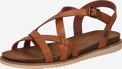 MUSTANG Páskové sandály - koňaková, Produkt