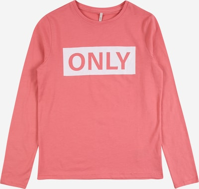 KIDS ONLY Shirt 'WENDY' in rosa / weiß, Produktansicht