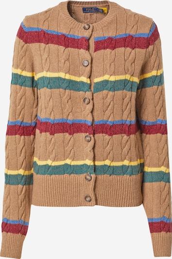 Polo Ralph Lauren Pletena jopa | kamela / mešane barve barva, Prikaz izdelka