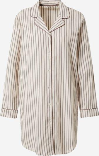 ESPRIT Nachthemd in braun / weiß, Produktansicht
