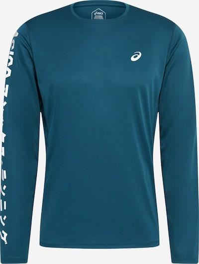 ASICS Sport-Shirt 'KATAKANA' in blau / weiß, Produktansicht