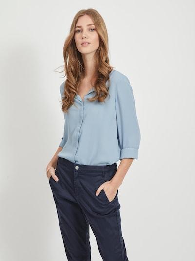 VILA Bluse in hellblau, Modelansicht