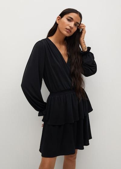 MANGO Kleid 'Moss 8' in schwarz, Modelansicht