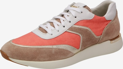 SIOUX Sneakers ' Malosika-707 ' in Beige / Brown / Gold / Orange red, Item view