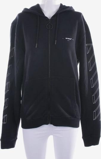 Off-White Sweatshirt / Sweatjacke in S in schwarz, Produktansicht