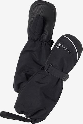 Isbjörn of Sweden Athletic Gloves 'Kids Arctic' in Black