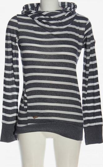 Ragwear Kapuzensweatshirt in S in hellgrau / weiß, Produktansicht