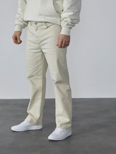 DAN FOX APPAREL Jeans 'Rafael' in offwhite, Modelansicht