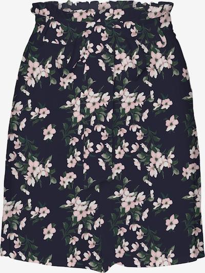 VERO MODA Pantalon 'Simply Easy' en bleu marine / sapin / rose, Vue avec produit