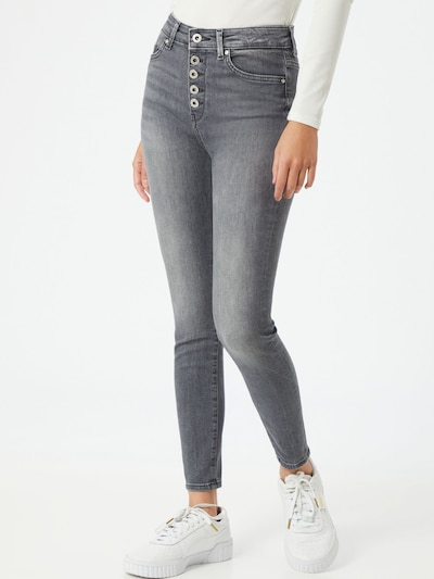 ONLY Jeans 'Hush' in grau, Modelansicht