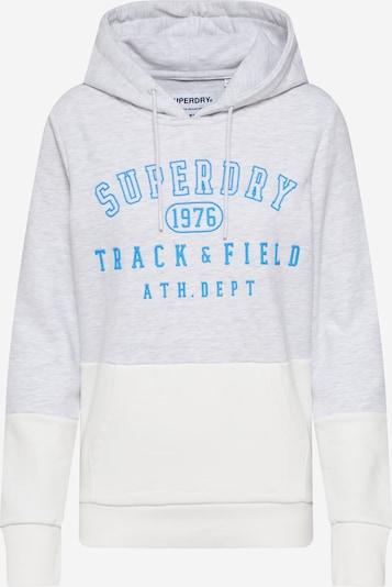 Superdry Sweat-shirt en crème / gris clair, Vue avec produit