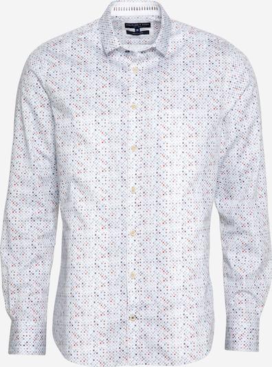 COLOURS & SONS Риза 'BUD' в пъстро / бяло, Преглед на продукта