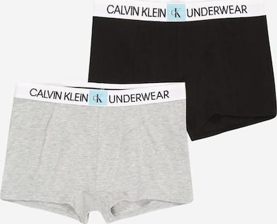 Pantaloncini intimi Calvin Klein Underwear di colore grigio sfumato / nero, Visualizzazione prodotti
