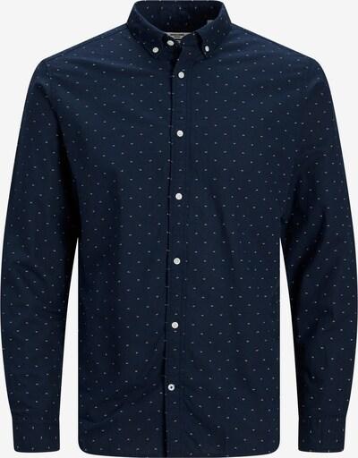 JACK & JONES Hemd in dunkelblau / weiß, Produktansicht