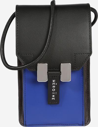 """Išmaniojo telefono dėklas 'Romy' iš Maison Hēroïne , spalva - sodri mėlyna (""""karališka"""") / juoda, Prekių apžvalga"""