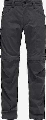 Haglöfs Outdoorhose 'Zip Off' in Grau