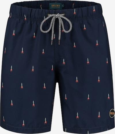 Shiwi Plavecké šortky 'Rocket' - tmavě modrá / šedá / červená, Produkt